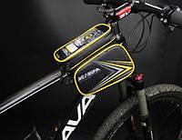 Велосумка на раму с отделом для смартфона (ВС-111), фото 1