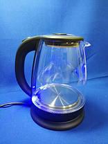 Чайник электрический Bitek BT-3110 1.8L 2400W LED подсветка, фото 3