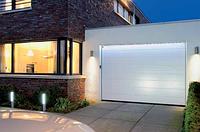 Ворота 2500х2125 гаражные M-гофр Woodgrain/Decocolor Hormann