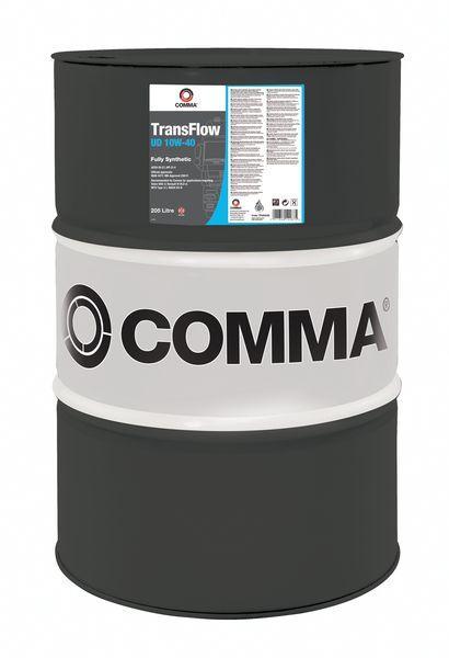 Масло моторное TRANSFLOW UD 10W40 205л.  COMMA