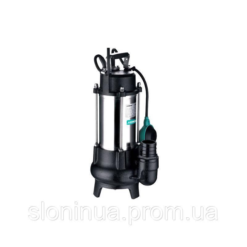 Дренажный насос с «сухим» двигателем SHIMGE WVSD 55 F (для загрязненных вод)