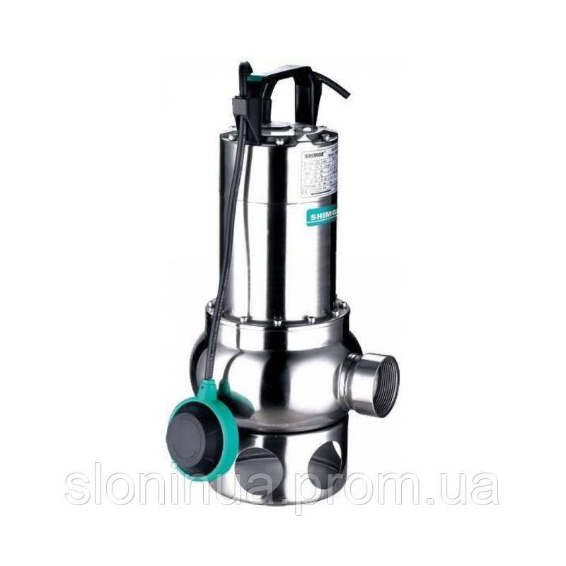 Дренажный насос с маслонаполненным двигателем SHIMGE WSD 75/50 (для загрязненных вод)