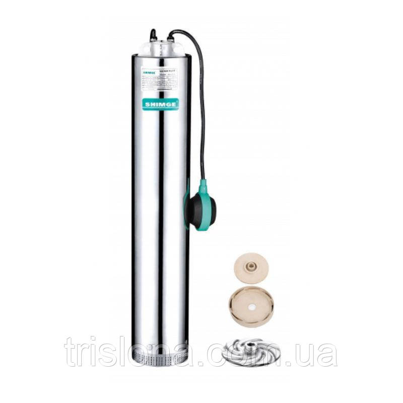 Многоступенчатый колодезный насос SHIMGE NKm 3/4-0.75S для чистой воды