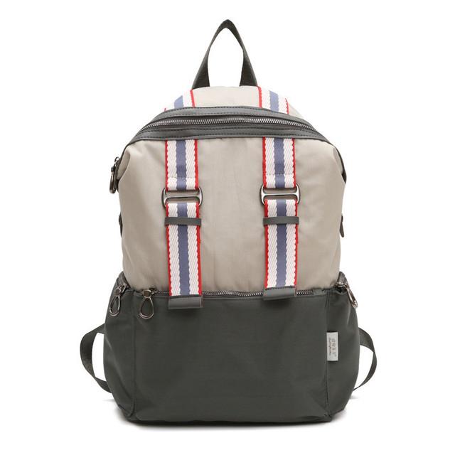Нейлоновый городской рюкзак серый