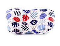 Подушка бабочка для новорожденных DavLu Морской горох 30х22 см (P-005)