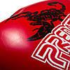 Боксерские перчатки PowerPlay 3007 красные карбон 12 унций, фото 5