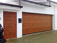 Ворота 5000х2125 гаражні M-гофр Woodgrain/Decocolor Hormann, фото 1