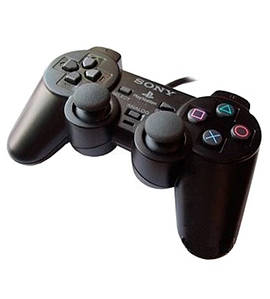 Проводной USB джойстик Sony, GamePad DualShock вибро для Sony PlayStation ps2