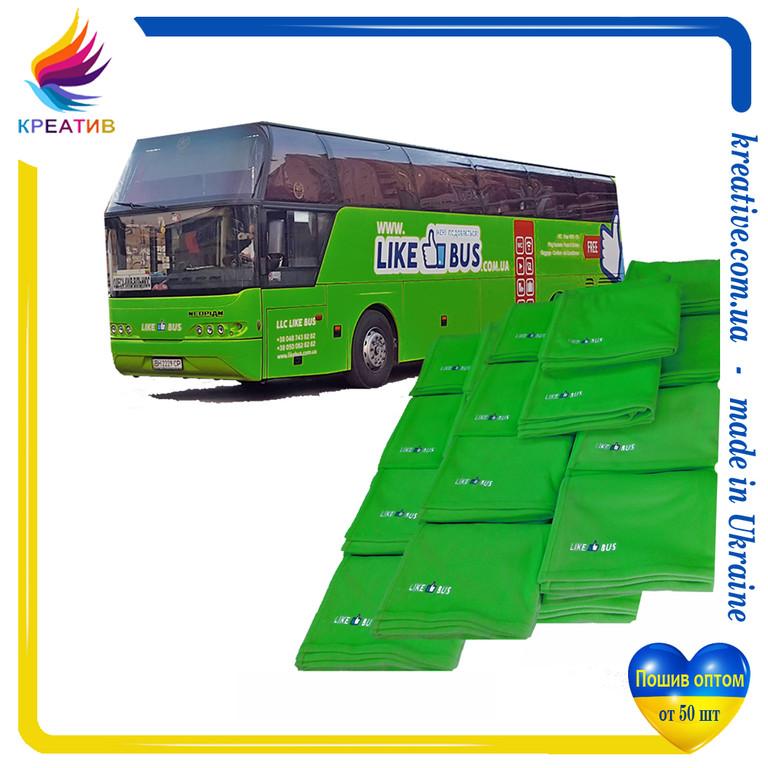 Теплые пледы для автобусной компании
