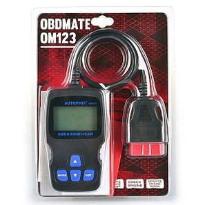 Диагностический Автосканер OBD OM123 PR5, фото 2