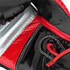 Боксерські рукавиці PowerPlay 3007 Чорні карбон 12 унцій, фото 2