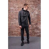 Мужской спортивный костюм STONE ISLAND, темно-серый (в стиле)