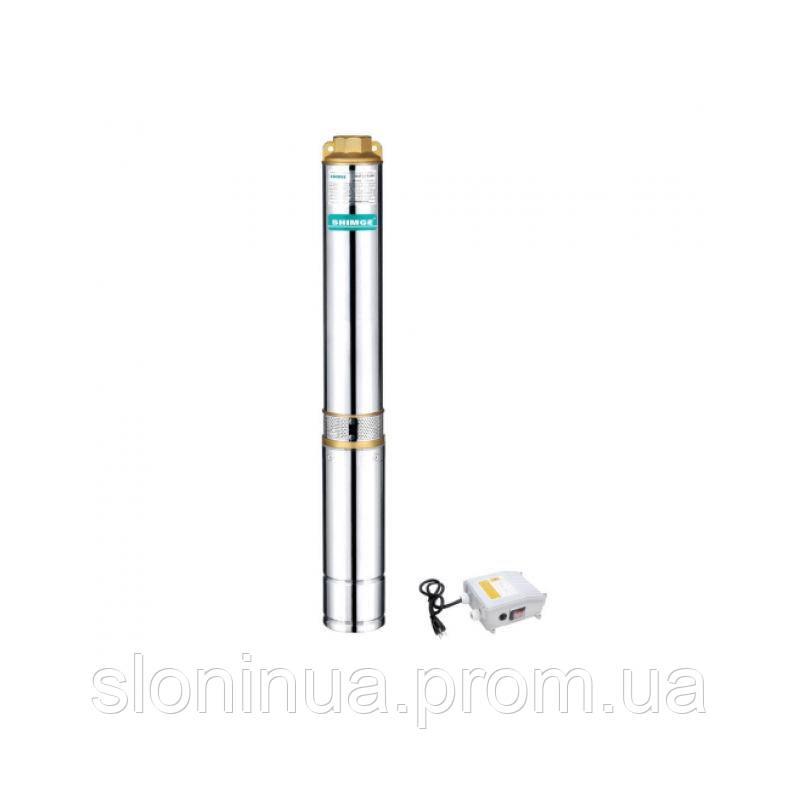 Скважинный центробежный насос SHIMGE 4 SGm 2/25 с внешним пусковым блоком