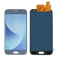 Дисплей (LCD) Samsung J530H Galaxy J5 (2017) TFT с тачскрином синий (подсветка Оригинал)