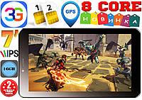 Новые! Планшет-телефон Samsung TAB. GPS, 3G, IPS 7'', 2sim, 8 ядер,16GB КОРЕЯ