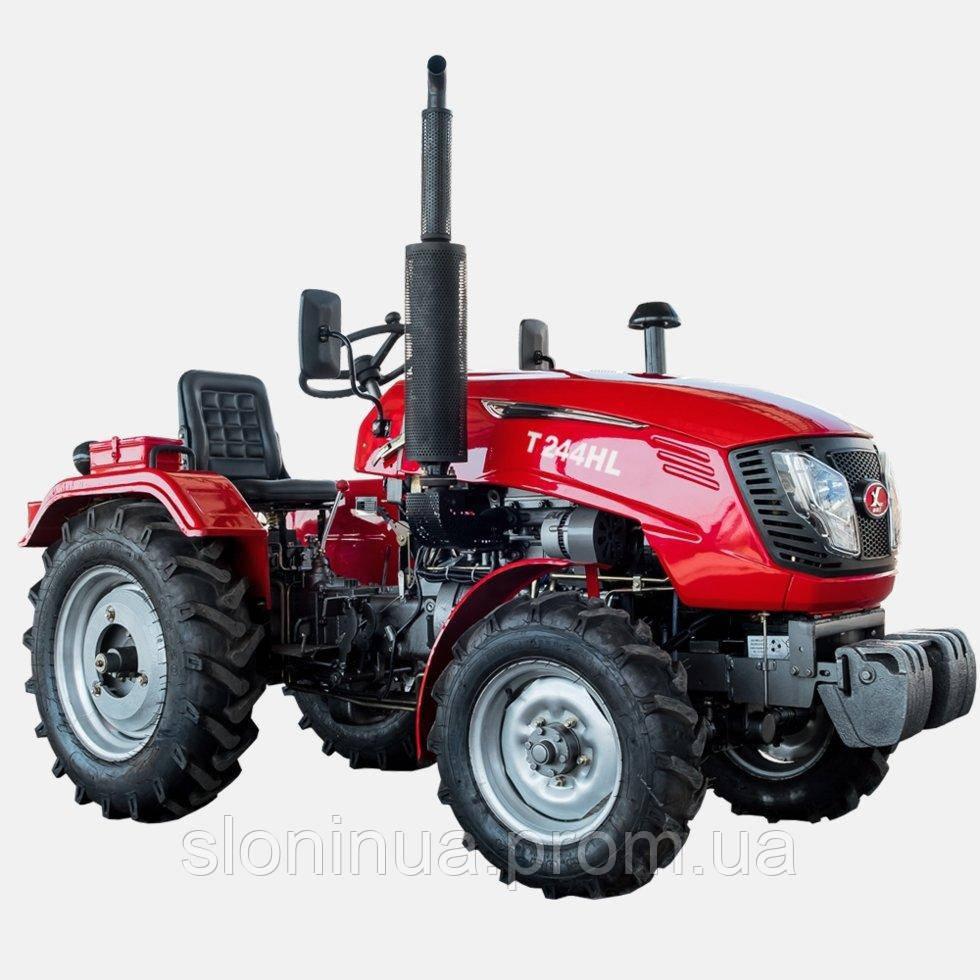 Трактор T244FHL  (24 л. с., 3 цилиндра,  ГУР, KM385, КПП (3+1) х2, блокировка дифференциала)