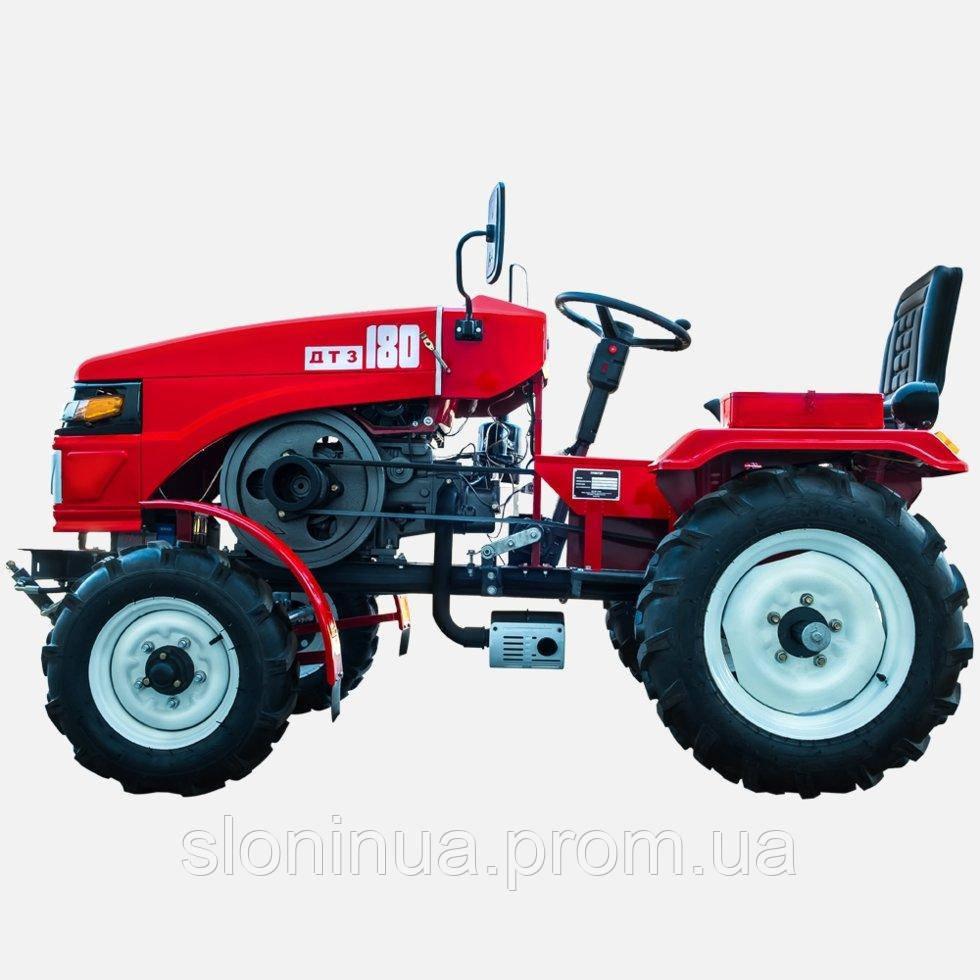 Трактор ДТЗ 180 (КПП (3+1) х2, двигатель ДД1100Е,  блокировка  дифференциала)