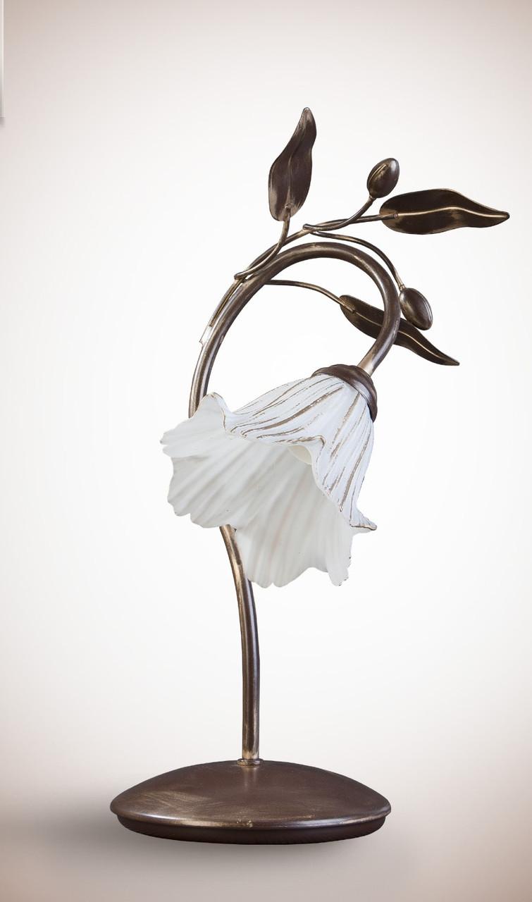 Настольная лампа в стиле флористика 11400