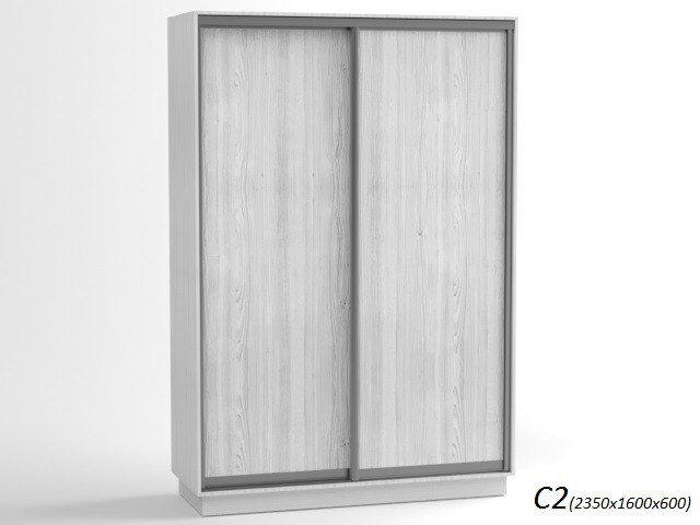 Шкаф - купе белый