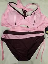 Купальник Тесемки 58803 розовый на 52 54 56 58 размеры., фото 2