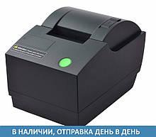 Принтер чеков с автообрезкой Xprinter XP-C58A USB+LAN