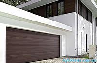 Ворота розмір 2500х2250 гаражні M-гофр Woodgrain/Decocolor Hormann, фото 1