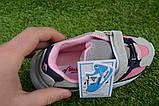 Детские кроссовки сетка Adidas Yeezy 700 фиолетовый розовый адидас , копия, фото 6