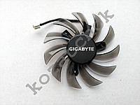 Вентилятор №75 кулер для видеокарты Gigabyte GTX 460560Ti 750ti 660 950 960 HD6850 T128010SM PLD08010S12H