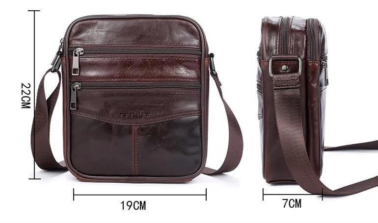 adb05c6a6b4f Мужская сумка коричневая OGRAFF, цена 930 грн., купить в Черноморске ...