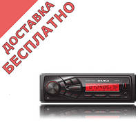 Автомагнитола SHUTTLE SUD-335 Black/Red USB ресивер
