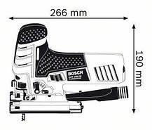 Лобзик BOSCH GST 150 CE 0601512000, фото 2