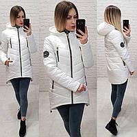 Куртка парка зимняя (арт. 300)  белая