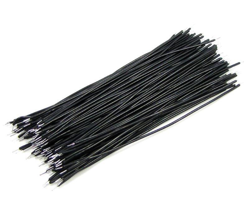 Провода монтажные Черные (100 шт)