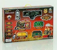 Детская железная дорога круговая на радиоуправлении (звук, свет, дым), фото 1
