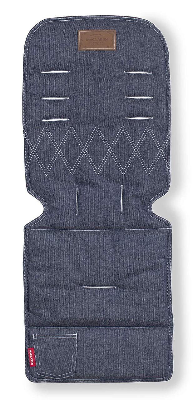 Універсальний матрац д/коляски колір DENIM, колір синій/джинс  AR1R033312