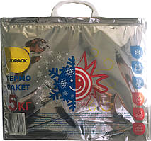 Термопакет многоразовый 39*32см,С РИСУНКОМ сохраняет холод/тепло 4 часа (до 5 кг)
