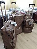 Валізи чемоданы AIRTEX 2931 Франція безкаркасні на 2-х колесах, фото 2