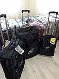 Валізи чемоданы AIRTEX 2931 Франція безкаркасні на 2-х колесах, фото 3
