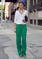 Лляні штани різних яскравих кольорів на вибір. Від малинового до зеленого., фото 1