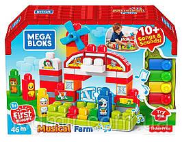 Конструктор Mega Bloks Музыкальная ферма 46 дет. GCT50