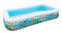 Бассейн надувной игровой.Детский надувной бассейн.Детские товары для плавания на море и в бассейне.