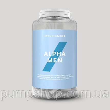 Вітаміни для чоловіків Myprotein ALPHA MEN 120 табл., фото 2