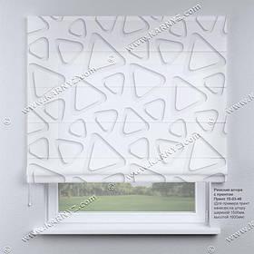 Римская фото штора 3D Фигуры. Бесплатная доставка. Любой размер до 3,5х3,5м. Гарантия. Арт. 15-03-46