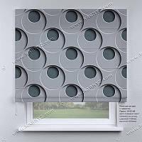 Римская штора 3D Узор. Бесплатная доставка. Любой размер до 3,5х3,5м. Гарантия. Арт. 15-03-48