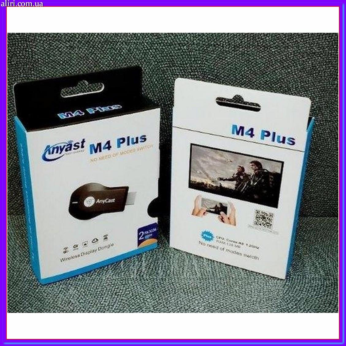 HDMI адаптер ANYCAST M4 Plus M4+ AnyCast M4 Plus wifi приемник медиаплеер
