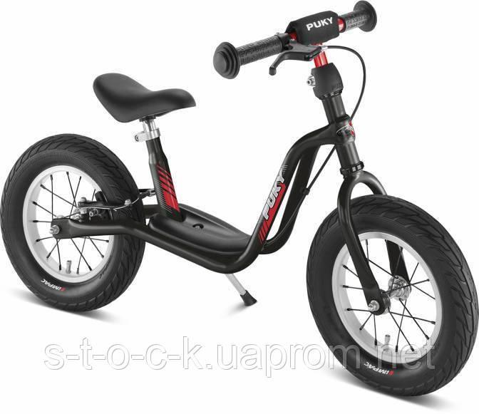 """Беговел Puky LR XL. Для деток от 3 до 6 лет. Надувные 12,5"""" колёса. Цвет: чёрный"""