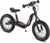 """Беговел Puky LR XL. Для деток от 3 до 6 лет. Надувные 12,5"""" колёса. Цвет: чёрный, фото 1"""