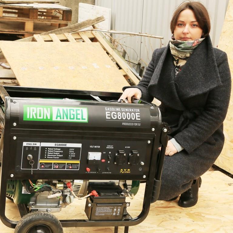 Генератор Iron Angel EG 8000 E