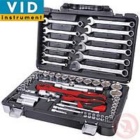 Профессиональный набор инструментов 61 ед INTERTOOL ET-6061