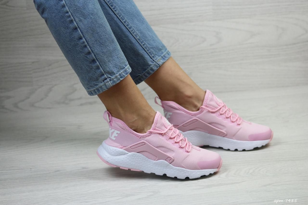 f45ced42 Розовые кроссовки Nike Huarache, женские (Реплика): продажа, цена в ...